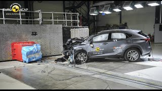 Lexus NX - Euro NCAP Crash Test - AEB Test