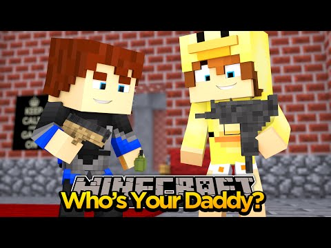 MINECRAFT- WHOS YOUR DADDY- TURNING INTO SUPER HEROS!!!