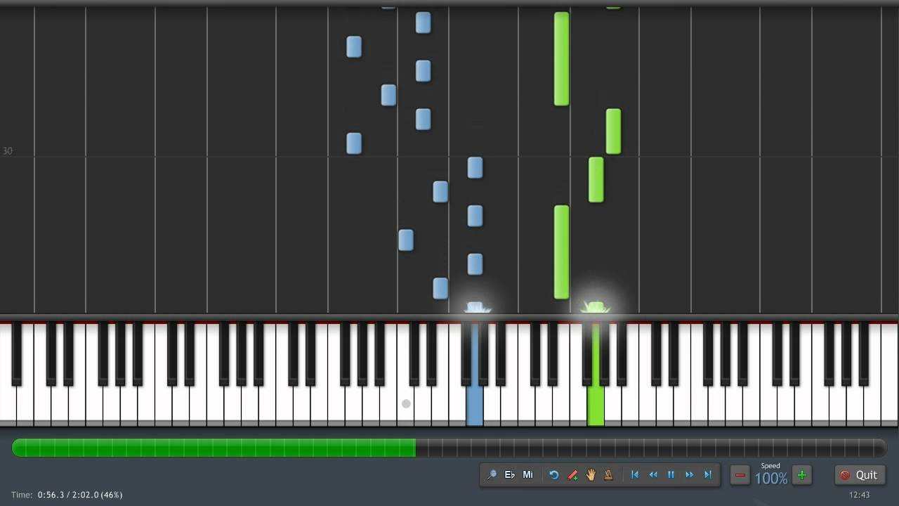 WatFile.com Download Free Ben Cocks — Your Firefly Piano Synthesia (Sheet Music + Midi