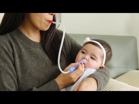 How to clear your baby's stuffy nose