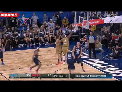2017 NBA All Star Celebrity Game Full Game Highlights  2017 NBA All Star Weekend