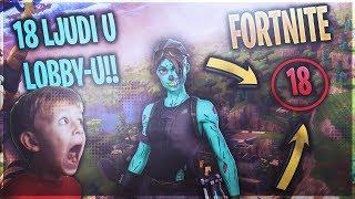 POCEO NAM GAME SA 18 LJUDI!!!!! - Fortnite