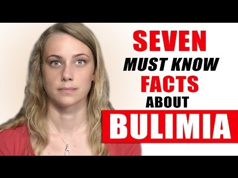 7 BULIMIA FACTS you have to know! TRIGGER WARNING health & bulimic eating disorders Kati Morton