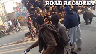 Road Accident | Funny | Tibba sultanpur | Mueed Bhatti