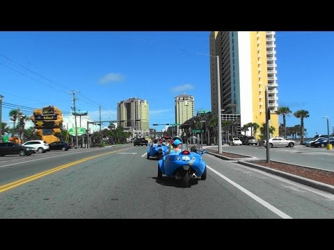 DRIVING IN PANAMA CITY BEACH, FLORIDA, USA