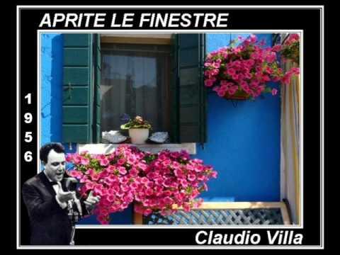 Aprite le finestre claudio villa youtube - Aprite le finestre ...