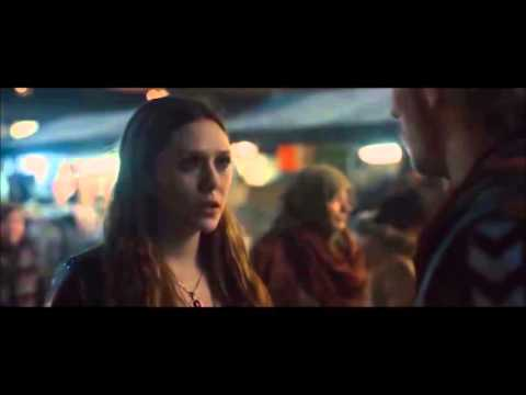 Quicksilver & Scarlet Witch [Deleted Scene from Avengers  Age of Ultron Part II]