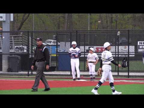 Baseball Heaven 12U Spring Challenge: Team Pride Select Vs LI Titans Body Armor ... 5-7-17