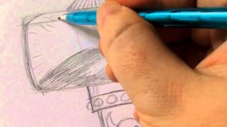 How To Draw Thors Hammer