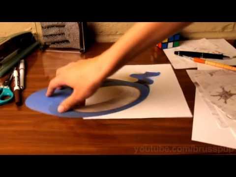 Cách vẽ 3D cực ảo