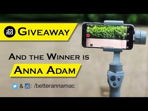 Giveaway - Win DJI Osmo Mobile 2 on This World Photography Day