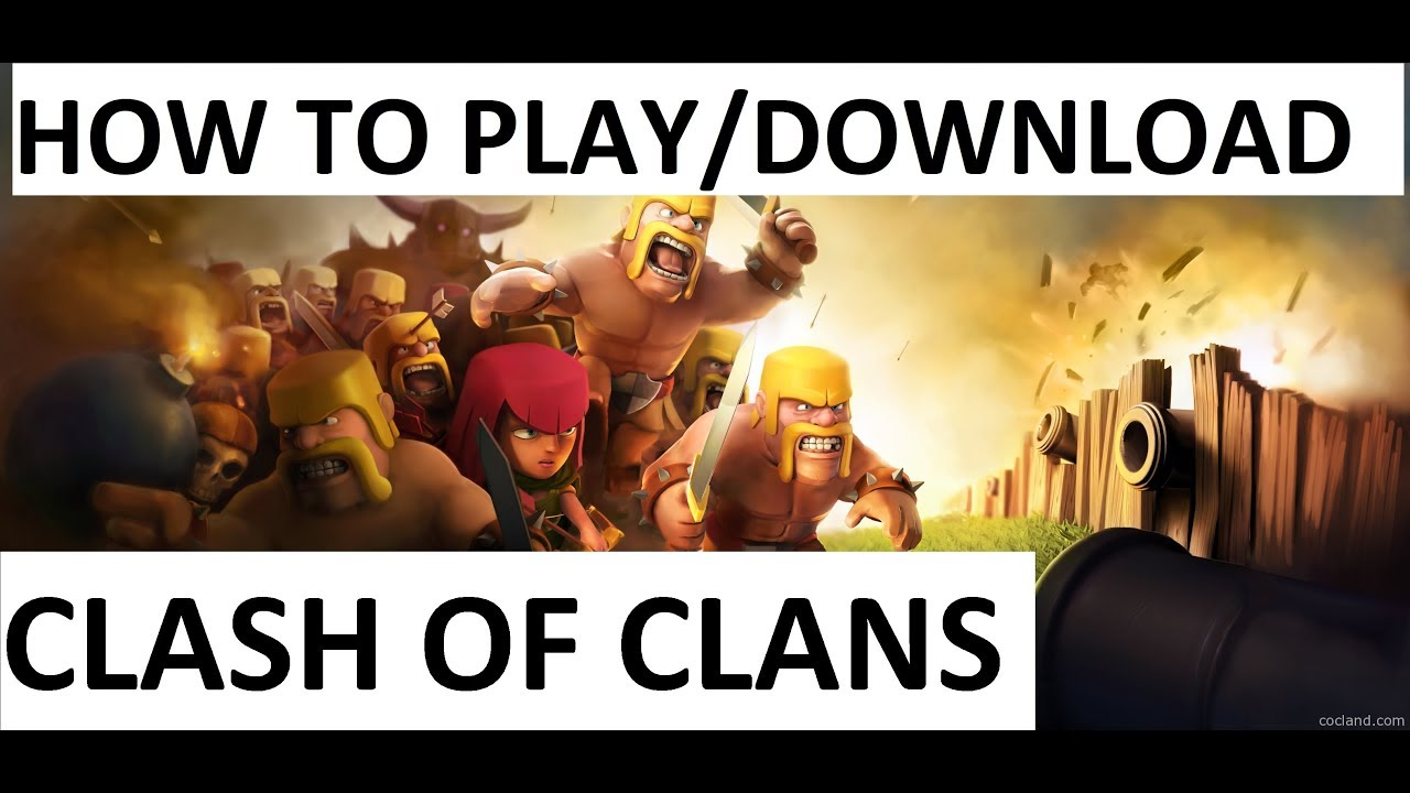 play clash of clans pc online