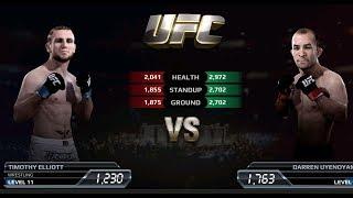 UFC EA Sports Boxing Timothy Elliott VS Darren Uyenoyama Gameplay