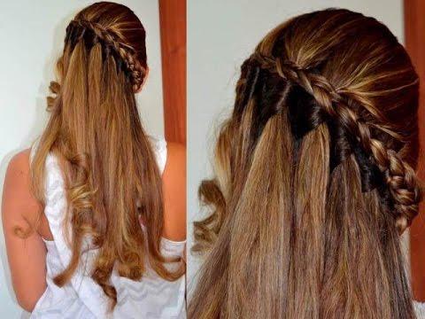 como hacer un peinado trenzado │belleza sin limites ♥ - youtube