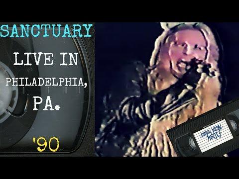 Sanctuary Live in Philadelphia PA March 27 1990