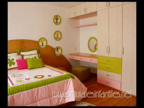 murales infantiles pintura decorativa dormitorios de nios youtube