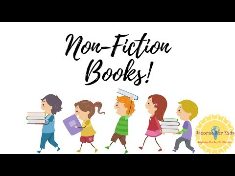 Non-Fiction Books For Kids!