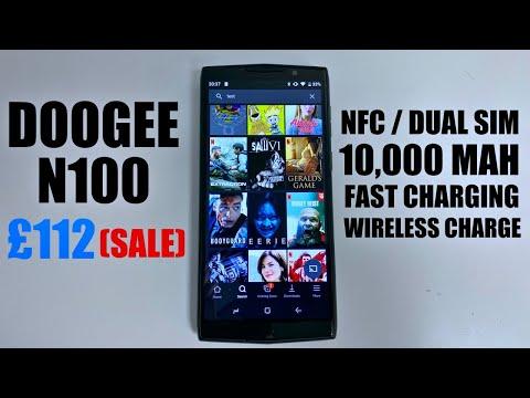 DOOGEE N100 Rugged Smartphone / Big Battery / NFC - Under £120