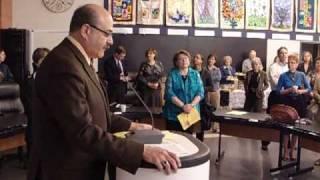 Martin Tabachnick, Chairman, Lester B. Pearson School Board
