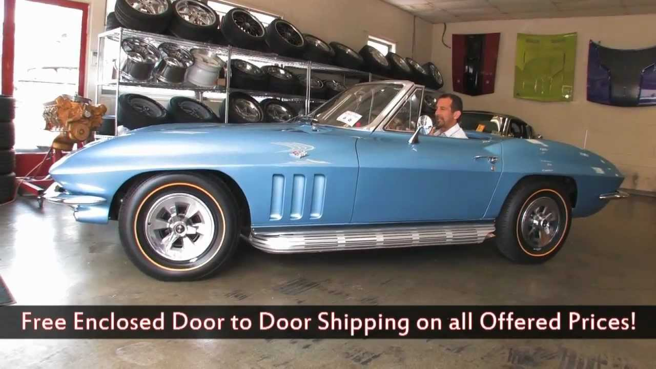 1965 Chevrolet Corvette Sting Ray for sale with test drive, driving sounds,  and walk through video