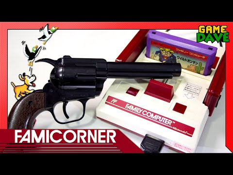 Famicom Beam Gun - FamiCorner Ep 3 | Game Dave