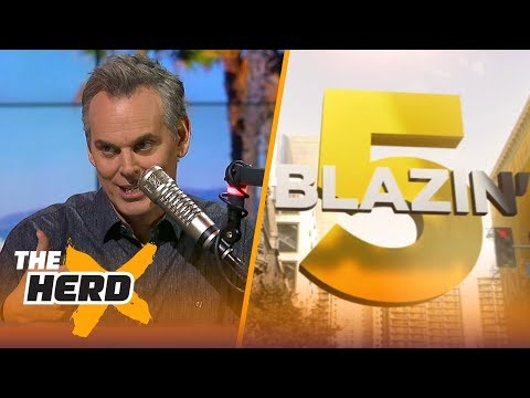 Blazin' 5: Colin's picks for 2017-18 NFL Week 15 | THE HERD
