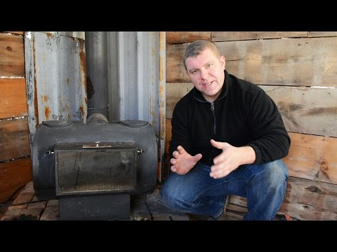 outdoor wood furnace hook up