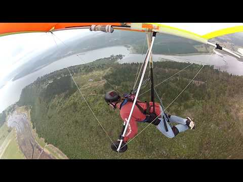Hang Gliding in Sedgefield - Thermals, Cloud Suck, White Room