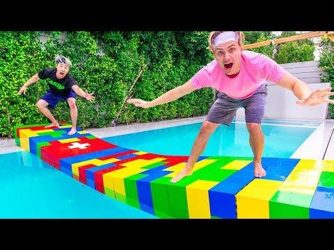 $10,000 LEGO BRIDGE