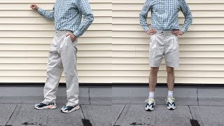 How To Turn Pants Into Shorts for Summer