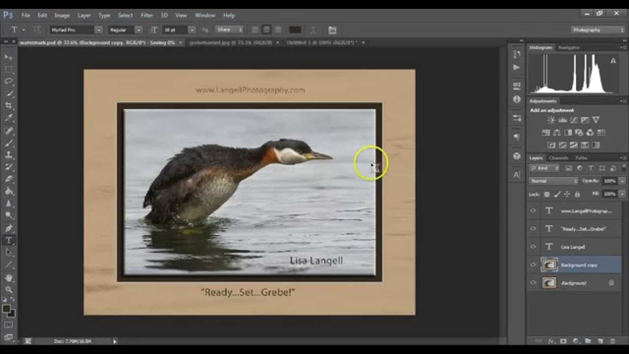 Use photoshop to put a digital frame mat around your photos use photoshop to put a digital frame mat around your photos youtube jeuxipadfo Image collections