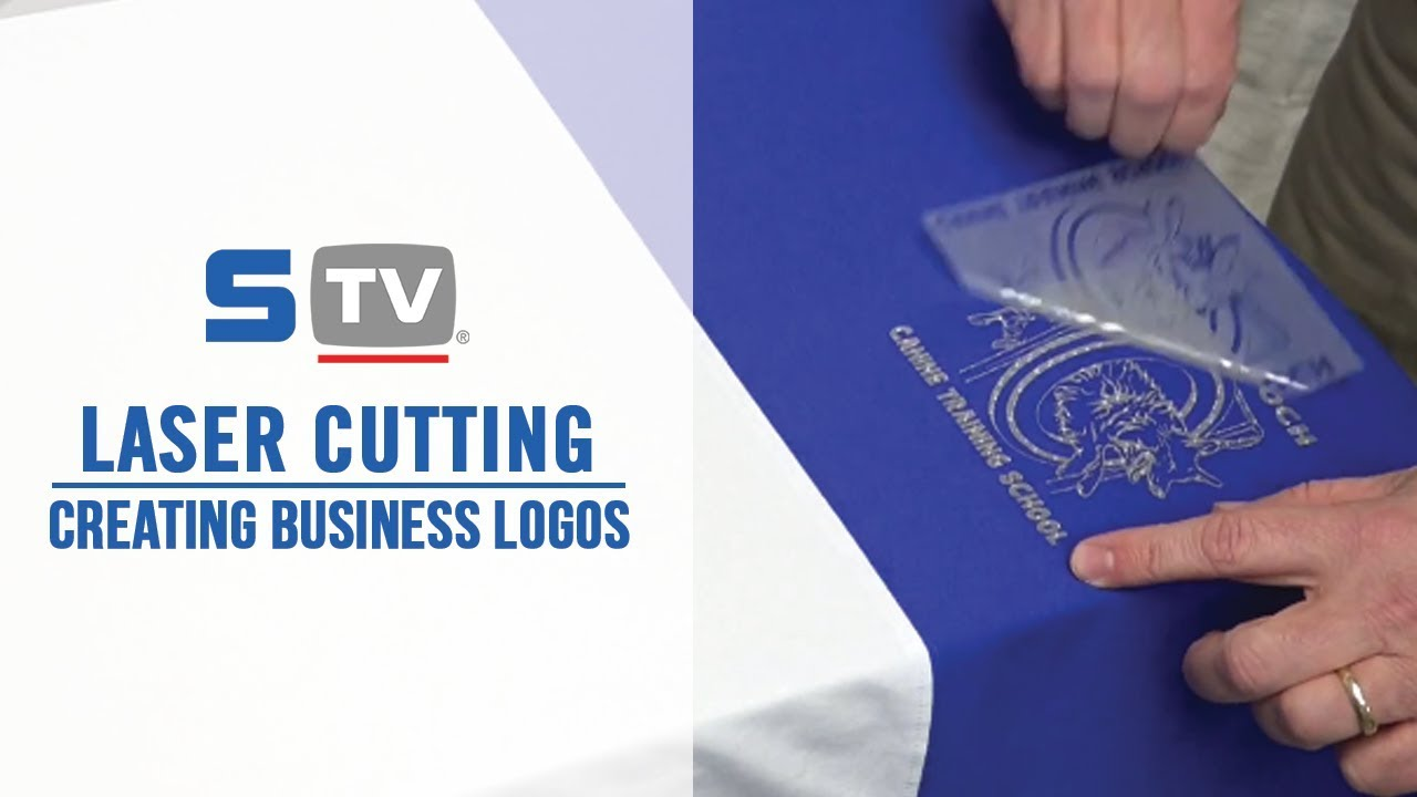 how to create business logos with a laser cutter youtube