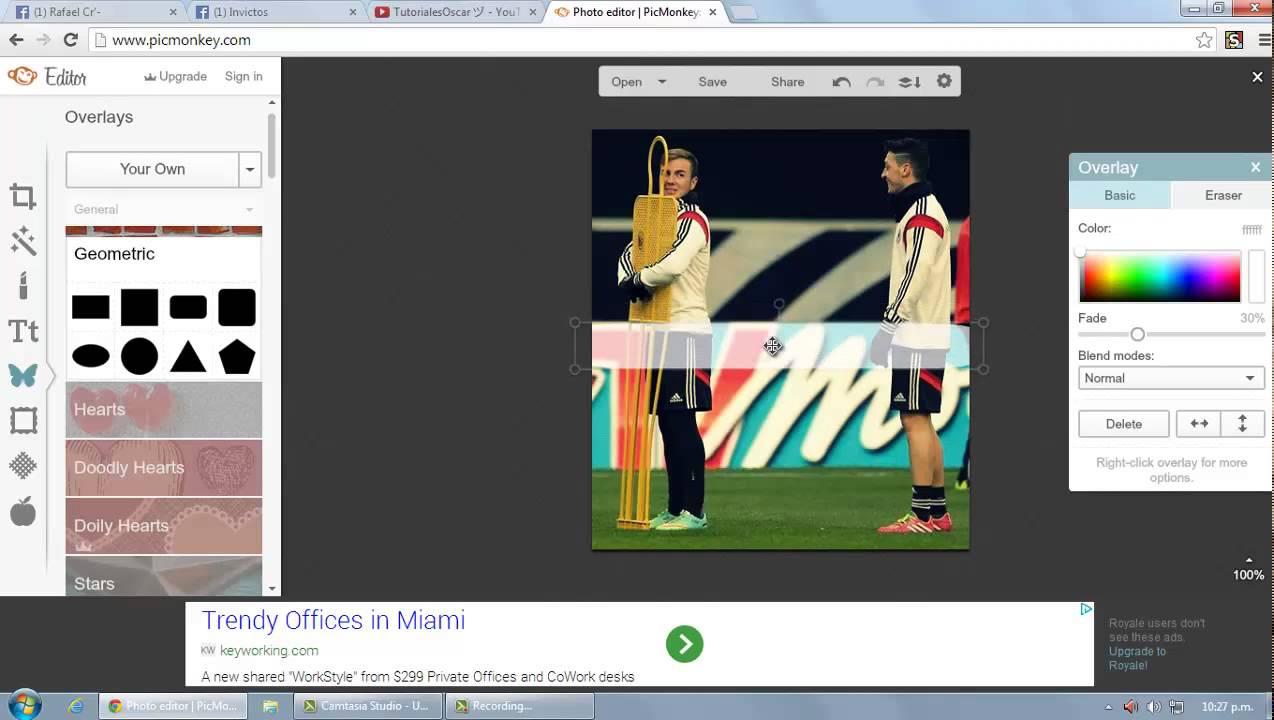 Tutorial como hacer frases de futbol con imagenes de for Programa para crear habitaciones
