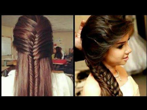 Punjabi Simple Hair Style Girl Youtube