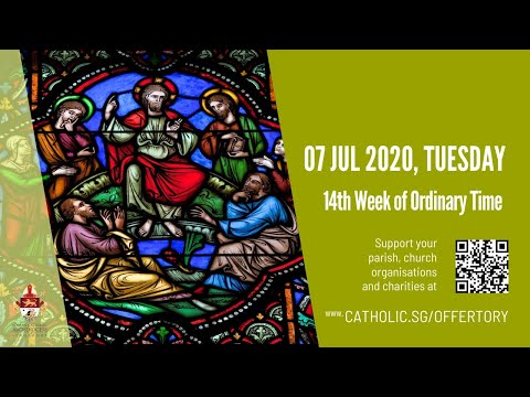 Catholic Weekday Mass Today Online -  Tuesday, 14th Week of Ordinary Time 2020