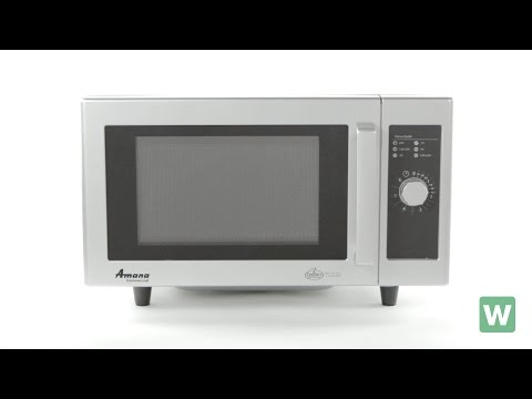 Amana Stainless Steel Microwave - Item RMS10D