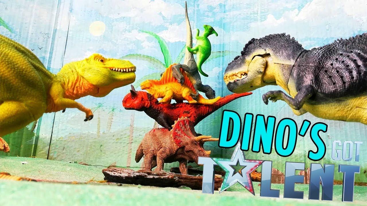 DINO's GOT TALENT ???? Alla ricerca di nuovi talenti tra i Dinosauri!