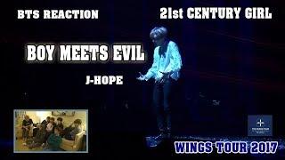 Video [ENG/VIET SUB] BTS Reaction 21st CENTURY GIRL & BOY MEETS EVIL J-Hope solo - WINGS TOUR 2017 download MP3, 3GP, MP4, WEBM, AVI, FLV April 2018