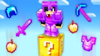 Minecraft, But It's Oฑ 1 Lucky Block...