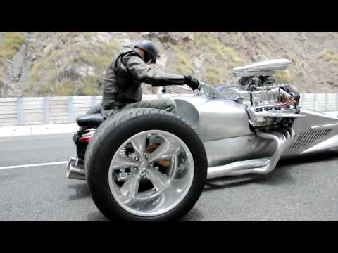 "Thumbnail: Tim Cotterill "" The Frogman"", Rocket 2 Trike. Size Does Matter"
