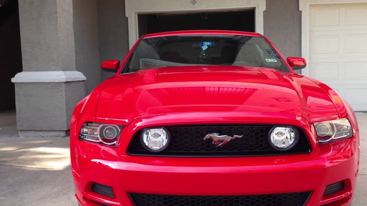 2014 Mustang Gt Walkaround Youtube