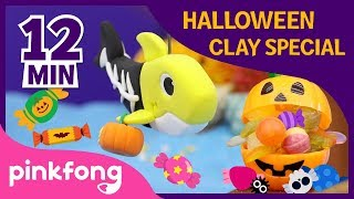 Halloween Clay Special | +Compilation | Clay Making | Halloween Songs | Pinkfong Songs for Children