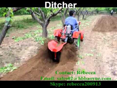 4 Wheels Mini Tractor