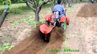 4 Wheels Mini Tractor