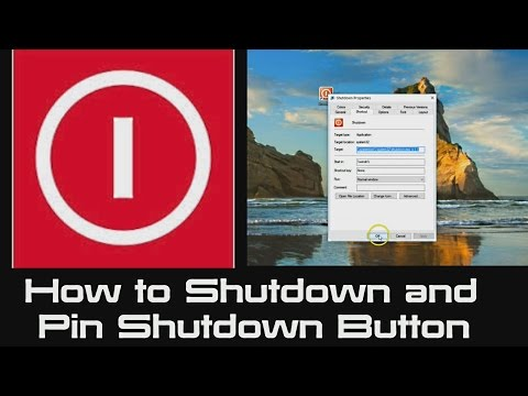 Windows 10 | How to Shutdown a Computer FAST instantly in One Click