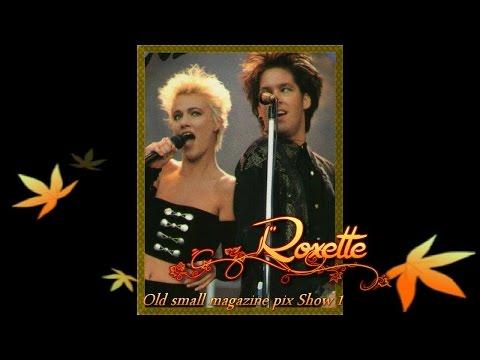 Roxette Joyride (Karaoke) Old Small Magazine Pix Show One