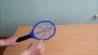 Мухобойка электрическая (Видео обзор)
