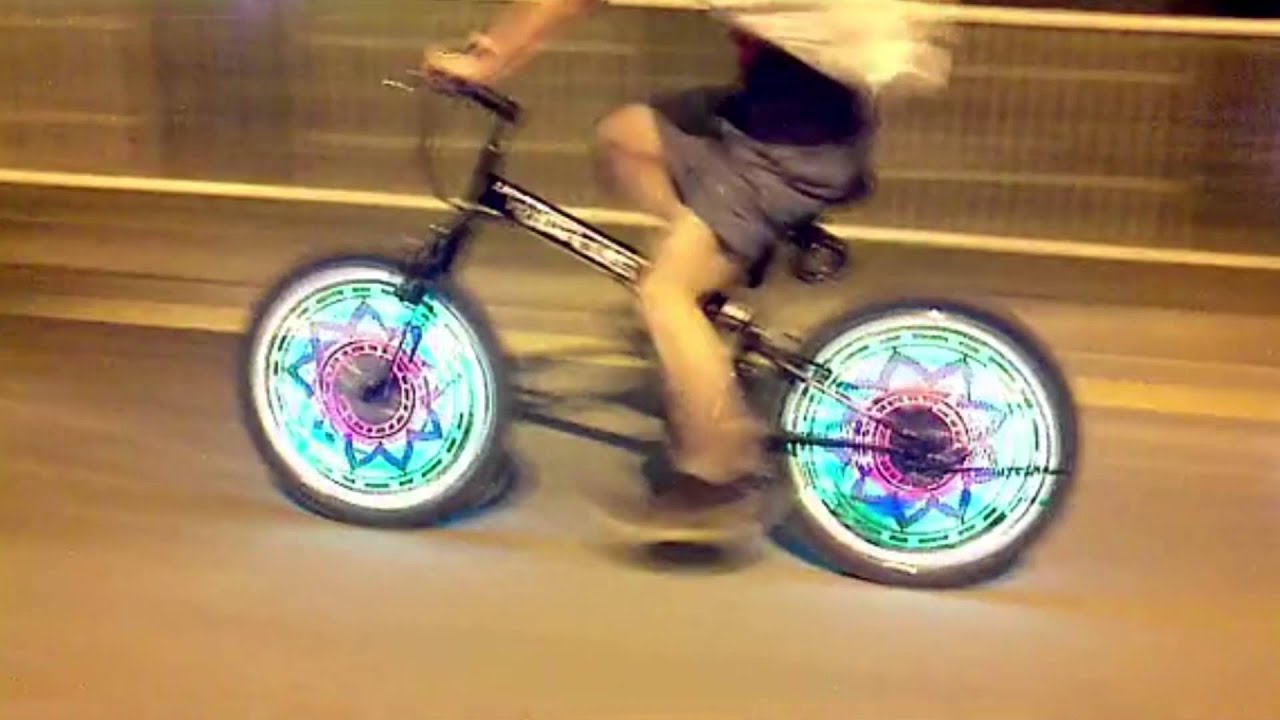14 LED Bike Motorcycle Cycling Bicycle Wheel Signal Tire Spoke wheel Lamp Light