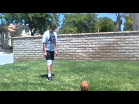 Chandler Holloway Kicking