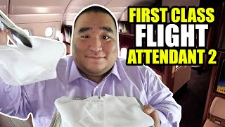 ASMR | First Class Flight Attendant 2 (Personal Attention, Soft Spoken)